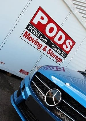 PODS :: PODS v Shipping Containers: Mercedes Benz