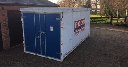 pods on site storage