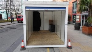 self storage containers for hire
