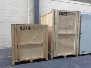 2 x PODS Storage Vaults